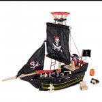 Buzzing Brains Wooden Pirate Ship £11.00 was £34.00 plus £2.99 delivery at KiddiCare