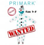 WANTED: Primark Disney Frozen Olaf Onesie size 7-8 (In time for Xmas)
