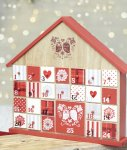 BHS Wooden Advent Calendar £15 @ BHS