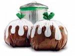 12 Christmas Pudding Novelty Bin Bags - £1.00 - B&M