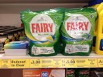 Fairy all in one dishwasher tablets 34pk RTC £3.00 @ Tesco Connswater