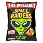 Space Raiders Pickled Onion (10 Pack) Only £1.00 @ Poundland