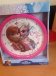 Frozen wall clock £3.99 @ discount uk