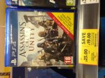 Assassins Creed Unity PS4 £25 @ Tesco Instore.