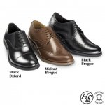 Hall & Sloane leather shoes £19.99 + £3.95 delivery from Daily Express Shop
