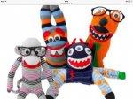Make Your Own Sock Monster- £1 at poundland