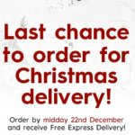 Free express delivery at Quiksilver when you order before midday 22nd Dec (get it in time for Christmas)
