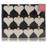 12pk Wooden Heart Clips 75p @ ASDA