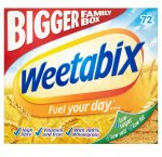 Weetabix 72 Pack £3.75 @ Farmfoods