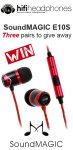 Win 1 of 3 SoundMAGIC E10S headphones Worth £39.99 @ AV Forum