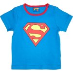 Mini boys blue superbaby print t-shirt, size 2 to 3 years, was £8.00 , now £4.00 half price @ River Island, Free click and collect to store