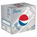 Pepsi Diet & Pepsi Regular 8X330ml BOGOF £3.50 ONLY@ Tesco