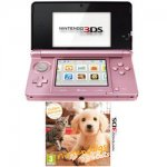 Nintendo 3DS nintendogs and cats - Coral pink bundle £99.96 @ Toys R Us
