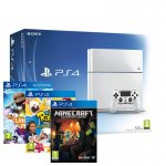 White PS4 Console + LittleBigPlanet 3 + Rabbids Invasion + Minecraft - £324.99 - eBay/Shopto (Black Console With LittleBigPlanet and The Crew - £324.99)