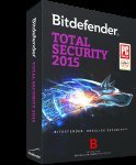 Bitdefender Total Security 2015 1 year license