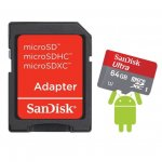 SanDisk 64GB Ultra microSDXC plus SD Adapter (Class 10 | UHS-I | 30MB/s) - £21.98 inc. delivery @ MemoryBits