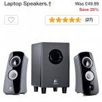 Logitech Z323 2.1 Speaker System - £37.49 @ Argos