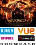 2 for 1 tickets to see The Hunger Games Mockingjay @ participating cinemas ShowFilmFirst