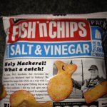 Burton's fish & chips £1 at poundland