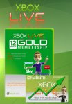 XBox live gold code. £24.99 12 months @ electronicfirst.com