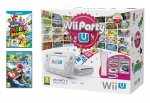 Nintendo Wii U 8GB Party Pack with Mario Kart 8 and Super Mario 3D World, Nintendoland £199.99 @ Amazon