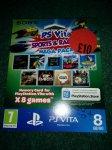PS Vita sports and racing mega pack + 8gb memory card - £10 @ Sainsburys