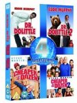 Dr Dolittle 1&2/Cheaper By The Dozen 1&2 (DVD BOXSET) £4.05 @ tesco direct