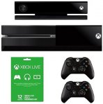 XBOX One with Kinect, Extra Controller, 12 Months Gold and Forza 5 Download £419.99 @ Amazon