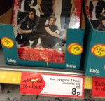 Morrisons One Direction advent calendar reduced to 8p instore