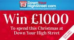 Win £1000 to spend at Down Your High Street @ Down Your High Street