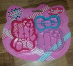 Hello Kitty cookie cutters £0.49 at Home Bargains
