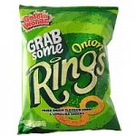 Golden Wonder Onion Rings and Bacon Streaks 150g share bags 69p each @ the co-op