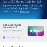 O2 priority get a £30 ITunes voucher for £25