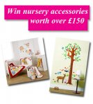 Win gorgeous gifts for the Nursery worth over £150! @ Gurgle