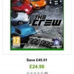 The Crew £24.98 Xbox One or PS4 Zavvi