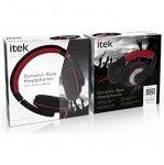 ITEK Dyna Bass Headphones - Black £8.99 @ Home Bargains