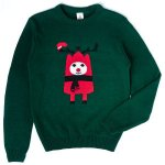 Adult's Text Santa Christmas Jumper £15 with free next day delivery @ The Hut