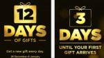 iTunes - 12 days of gifts *heads up*