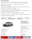 Audi A62.0TDI ULTRA SE Business Lease £8068.89 @ National Vehicle Solutions