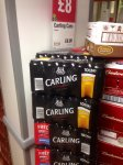 10x Carling Lager with FREE Sky Sports NOWTV Day Pass - £8  at Co-Op nationwide.
