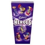 all 245g box of chocolates £2 at larger stores of tescos.