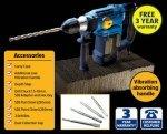 1500watt SDS rotary hammer drill kit £19.99 @ ALDI   3 Year Guarantee