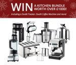 Win a kitchen bundle worth over £1000 @ topcashback