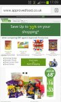 Save up to 70% off your shopping @ approved food