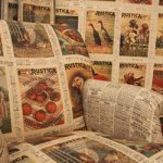 Win a roll of Rustica vintage wallpaper @ Landlove Magazine