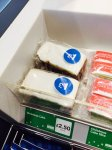 Greggs mince pies 6 pack & Christmas cake reduced to £1