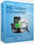 WinX HD Video Converter Deluxe 5.5.3 (RRP $49.99) - Today only