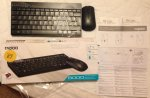 Robert Dyas at Harrow is clearing Rapoo 8000 Wireless Mouse & Keyboard Combo £ 7