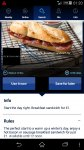 Bacon or sausage breakfast sandwich from Debenhams for £1 using O2 priority app