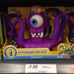 Imaginext tentaclor £7.50 @ tesco instore